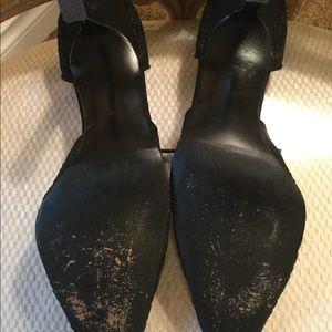 Stuart Weitzman Shoes - Women's Stuart Weitzman black lace heels